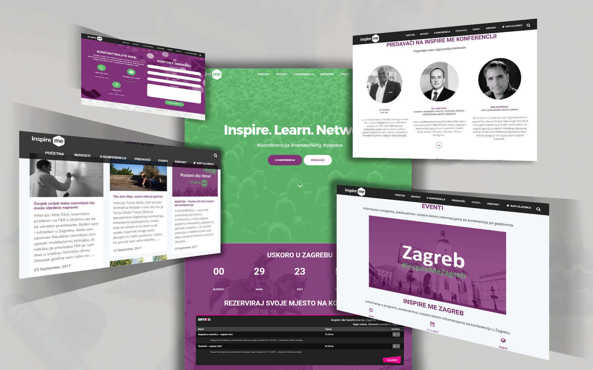 Inspire Me konferencija desktop